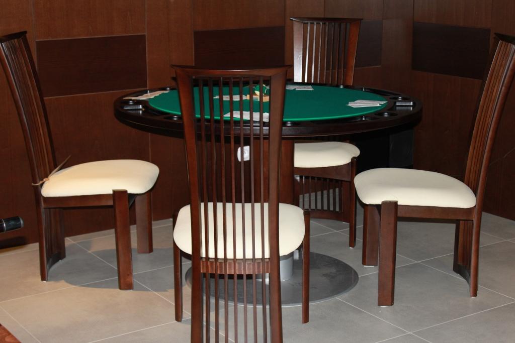 Pokertisch Rund