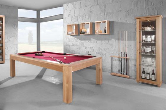 Billardtisch CHICAGO 4 ft Pool-Billard Einstiegsmodell schwarz inkl Zubehör