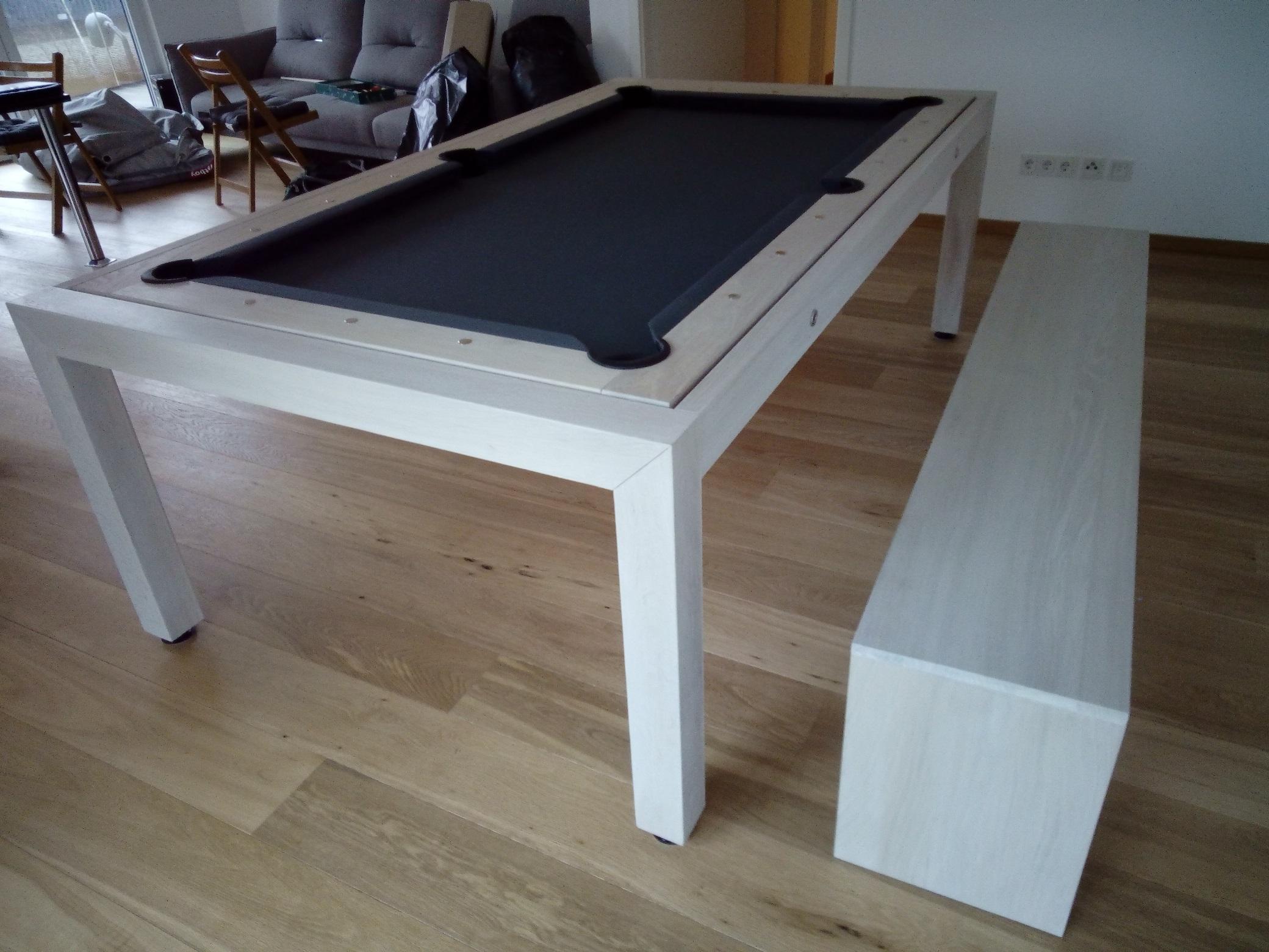 moderne sitzbank aus massivholz in buche oder eiche billard. Black Bedroom Furniture Sets. Home Design Ideas