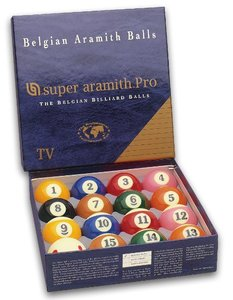 Poolkugeln Super Aramith pro TV  57.2 mm