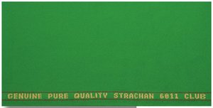 Snookertuch West of England Strachan Club und Tournament von Milliken 193 cm