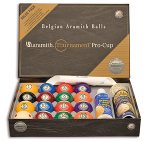 Poolkugeln Aramith Tournament Pro Cup Value Pack